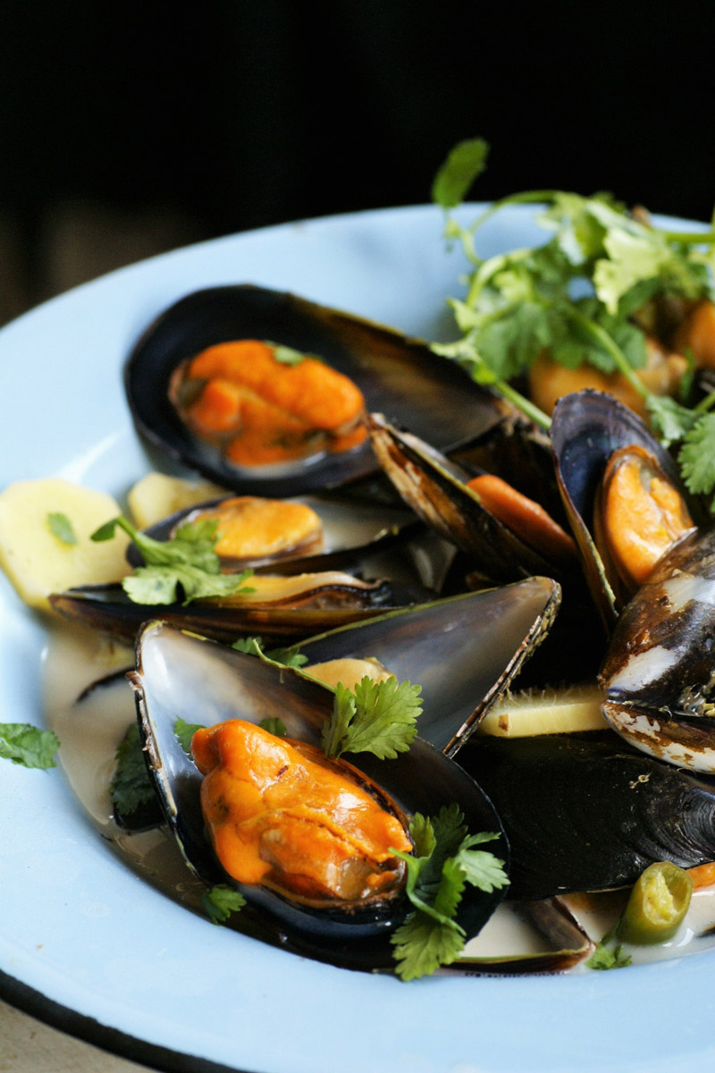 asian mussel recipe